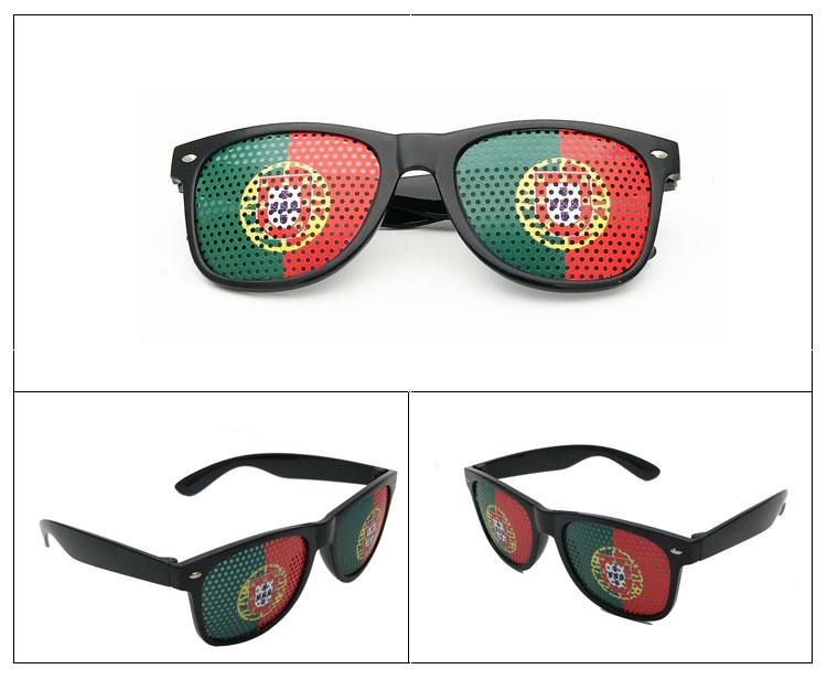 Free Sample Potugal flag sunglasses sunglasses promotional custom logo