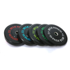 100% Virgin solid rubber kG bumper plate for weight lifting