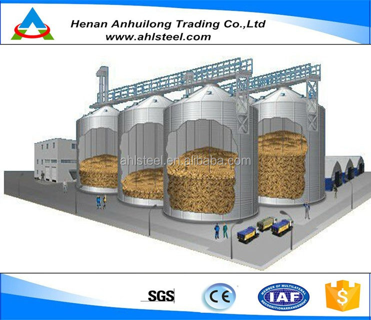 Used Assembly Grain Storage Steel Silo Cost - Buy Grain Silo,Silo  Cost,Assembly Steel Silo Product on Alibaba com