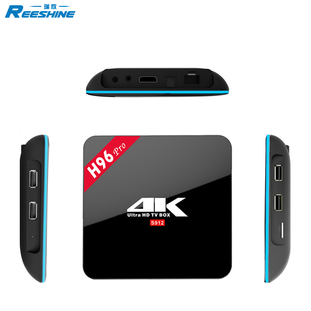 Amlogic S912 Octa Core H96 Pro Android 7.1 3G RAM 16G ROM IPTV Receive Kodi TV Box
