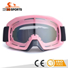 Durable rubber frame PC lens motorcycle motocross mx goggles HB-186