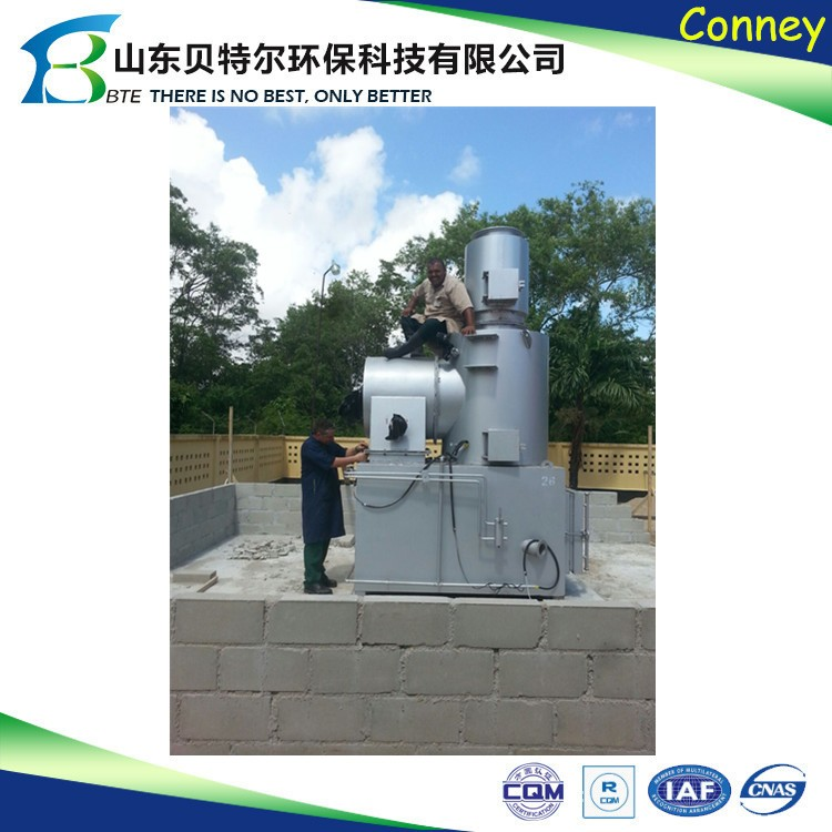 Small model home waste incinerator for household use buy for Household incinerator design