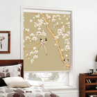 3D flower printing shades blackout roller blinds