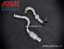 Foshan Catless Exhaust Header A45 AMG Exhaust Downpipe Det-Cat Turbo Back