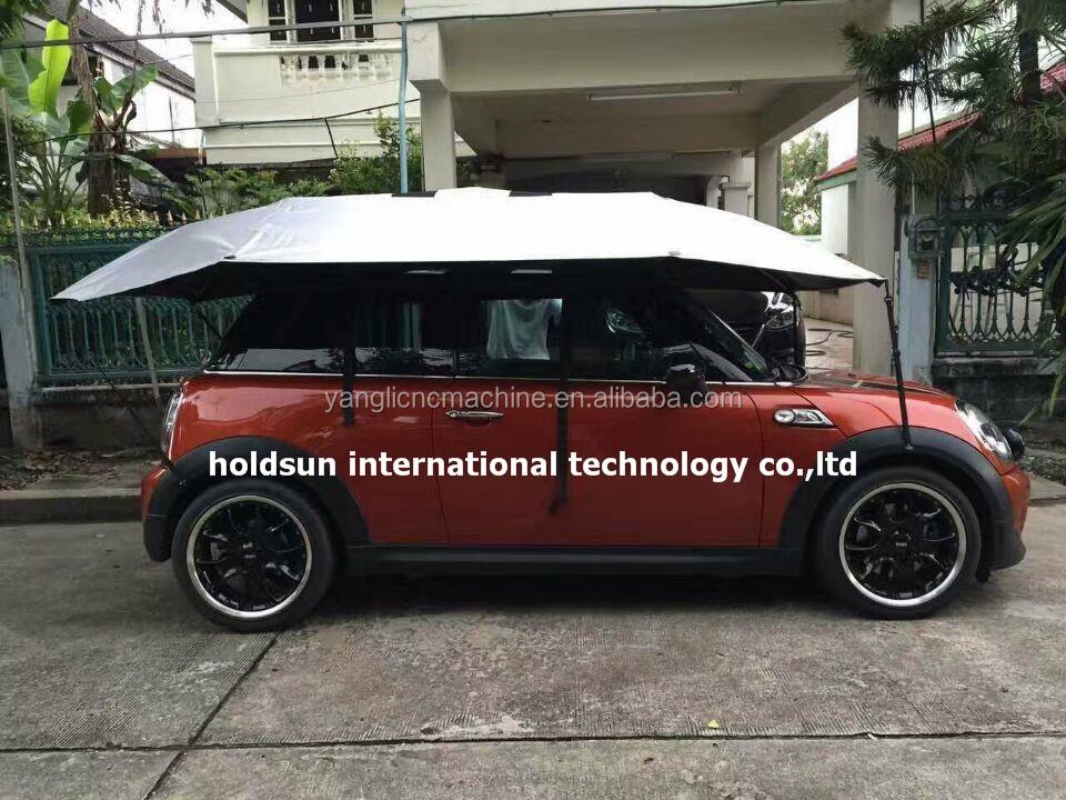 automatique de voiture parapluie ombre couvre voitures mini motoneige acheter voiture de la. Black Bedroom Furniture Sets. Home Design Ideas