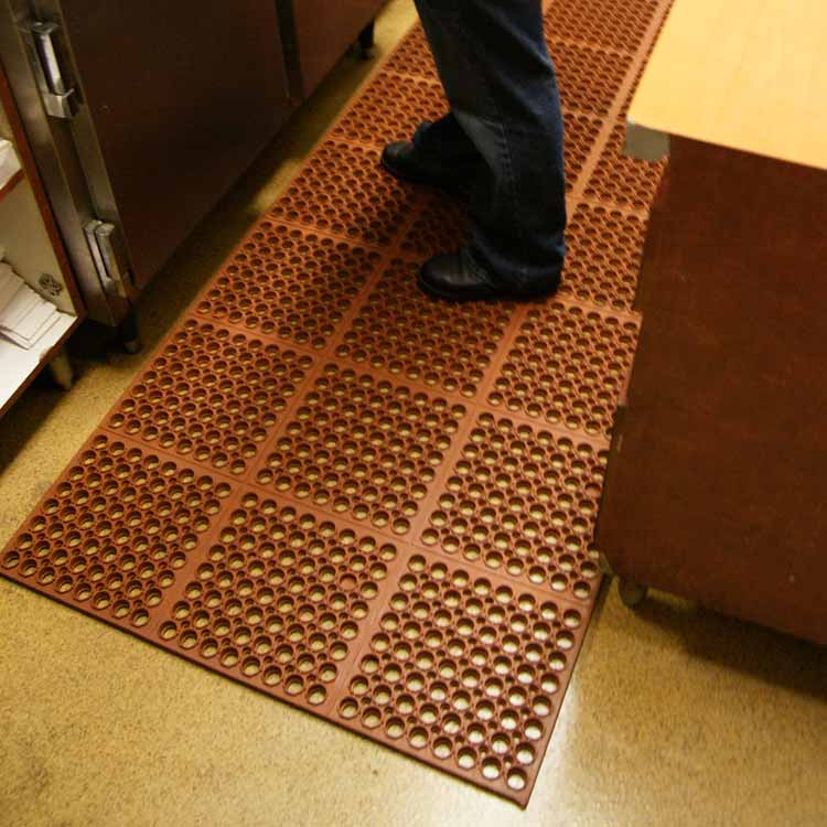 Anti Slip Welcome Foot Door Floor Comfort Chef Sink Rubber Mats For Kitchen