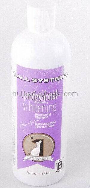 Professional formula Whitening&Brightening shampoo for pets