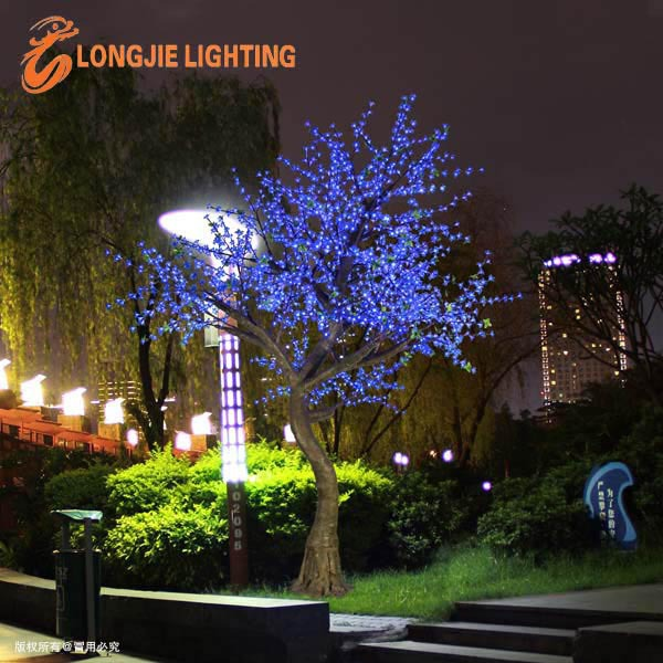 2268 Led Cherry Blossom Landscape Tree Light Led Outdoor Solar ...