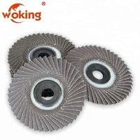 100x3x16mm Quick Change Sanding Flap Disc Grinding Wheel For Angle Grinder