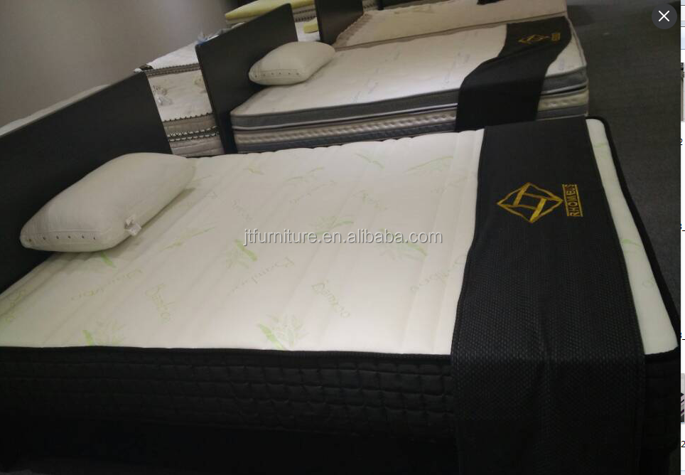 bamboo knitted spring mattress/online shopping India