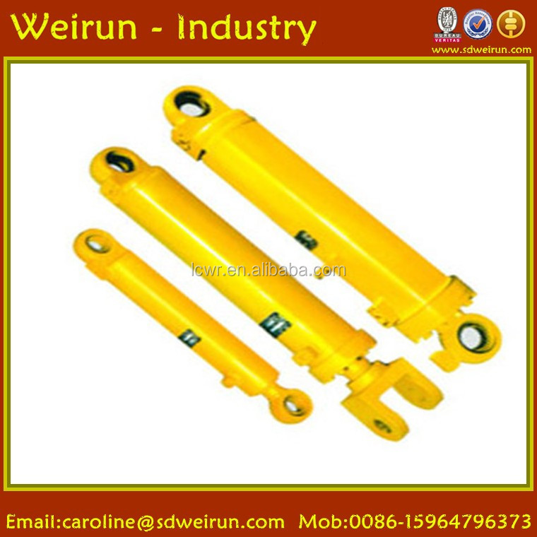 Hydraulic Power and Piston Cylinder Structure double ended hydraulic cylinder