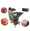 high quality Frozen meat flakes slicer rolled meat slicing machine for sausage
