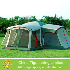 waterproof anti UV largest camping tent for team activities