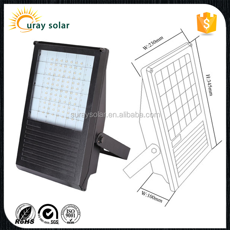 8W LED billboard signs solar flood light/outdoor garden fixtures