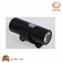 UGOE CREE USB rechargeable road bike light set with 200 lumens avoid darkness