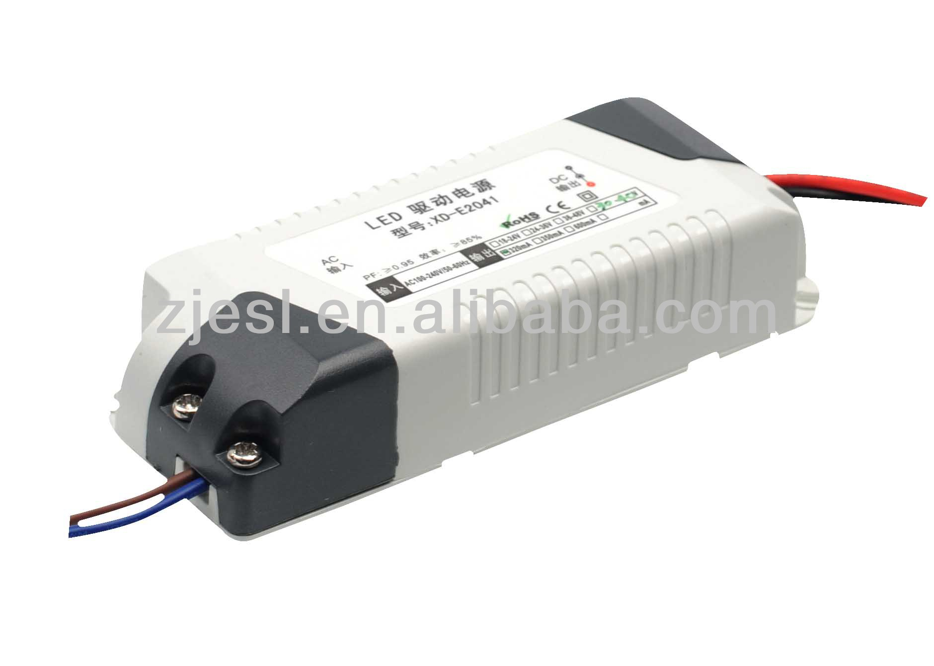 15-50w Plastic Shell Of Led Power Supply For Led Lights