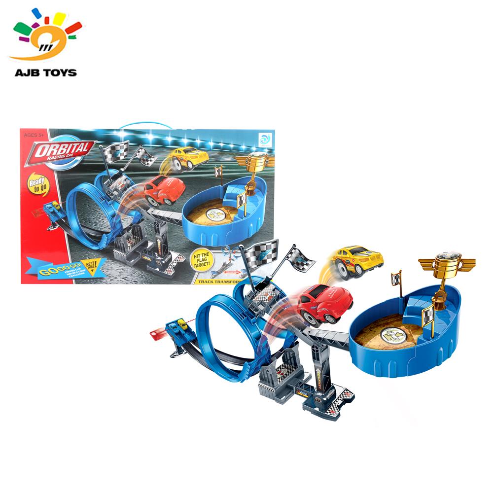 Newest design railway train toy rail train toy from Shantou factory
