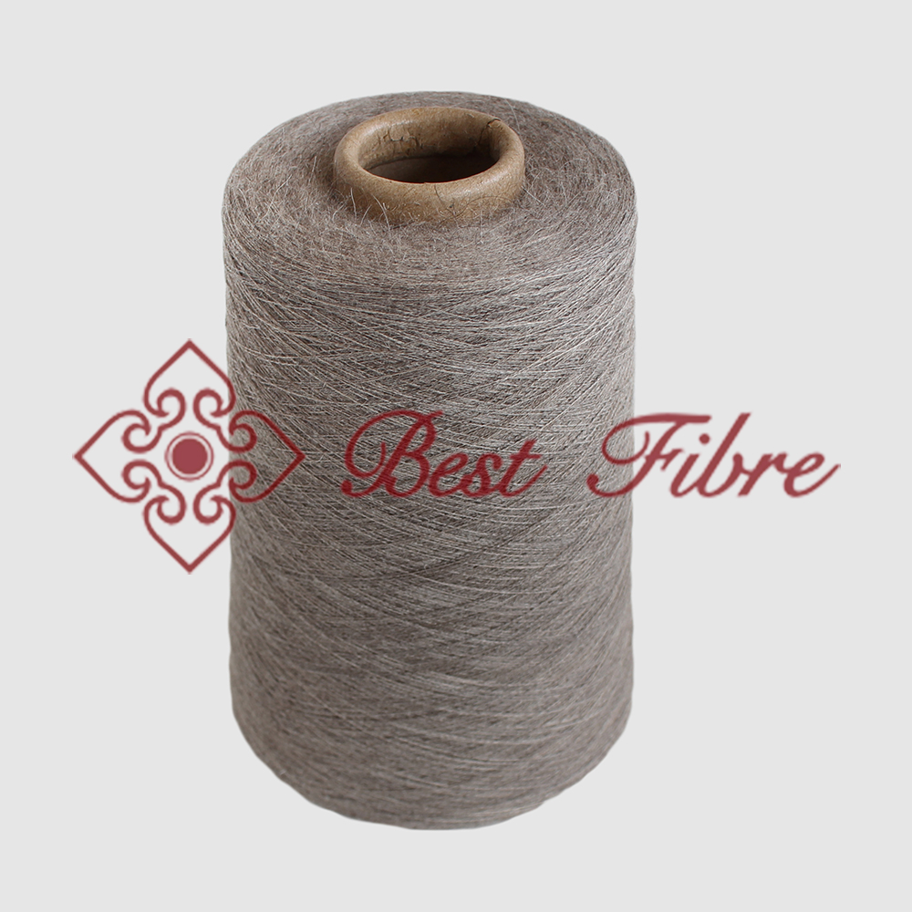 Tibetan yakwool fiber machine knitting and worsted yak yarn
