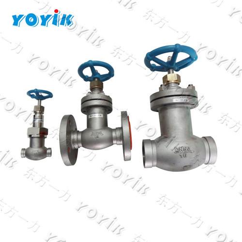 For Dongfang generator units LJC50-1.6P globe check valve