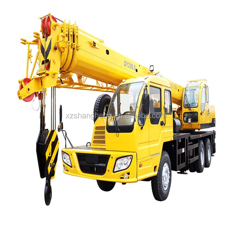China Supplier Wholesale Durable Stable System Hydraulic Truck Crane QY20B.5 crane