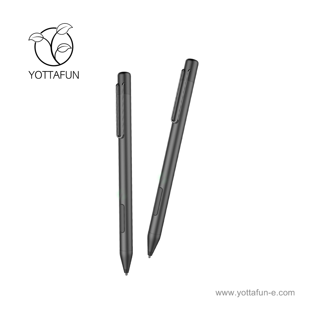 Yottafun custom slim metal capacitive active pen stylus pen stylus, View  pen stylus, oem/yottafun Product Details from Shenzhen Pretech Industrial