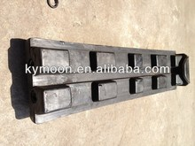 excavator rubber track pad / track rubber shoes/rubber track