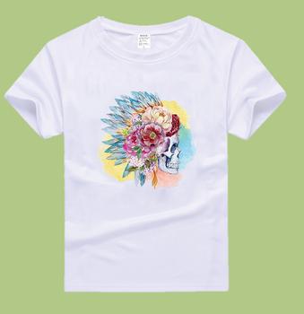 custom logo wholesale heat transfer printing t shirt buy