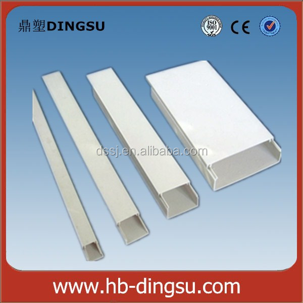 Hot Selling Attractive Price High Quality PVC electrical trunking/PVC electrical pipe
