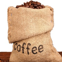 2019 New products Natural jute linen Drawstring bag for coffee beans