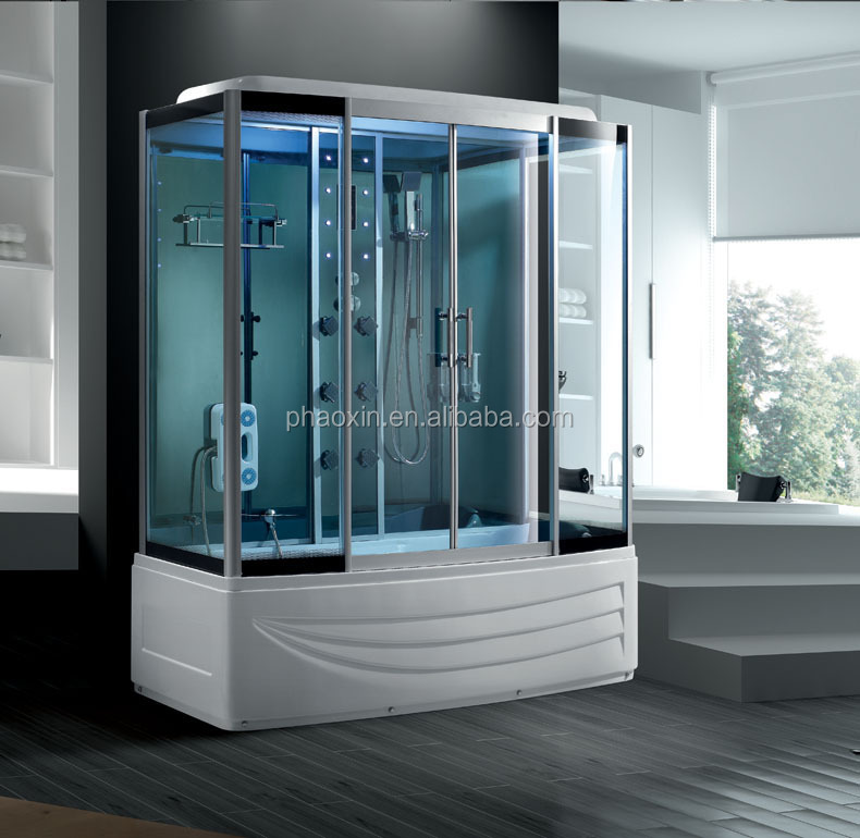 Luxury steam shower room for two persons