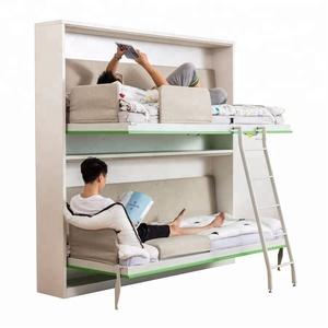 Tremendous Horizontal Folding Bunk Wall Bed Horizontal Folding Bunk Pabps2019 Chair Design Images Pabps2019Com
