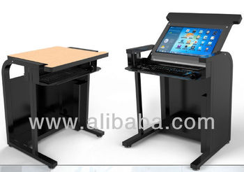 Smart Desk With Tablet Monitor