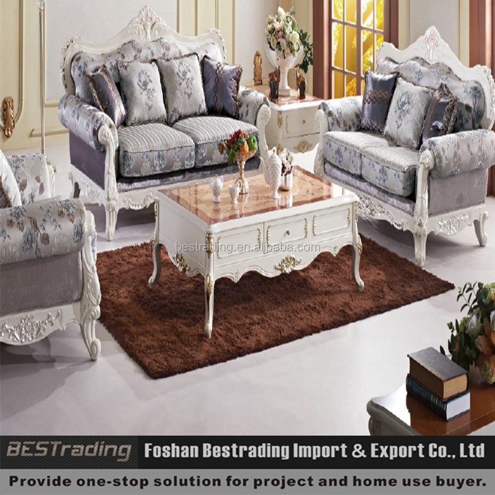 Fantasia gruppo sedie viola divano componibile di lusso divano classico europeo set divani di - Divano classico lusso ...