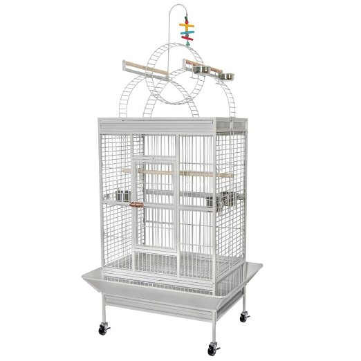 China Large Parrot Bird Flight Finch Cage Macaws Aviary House Pet Supply