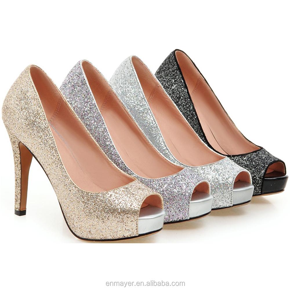 Zapatos peep toe de tacón alto 4Yyhd9G