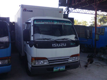 84b577751a7d72 Isuzu Elf Aluminum Closed Van Japan Surplus Trucks - Buy Elf ...