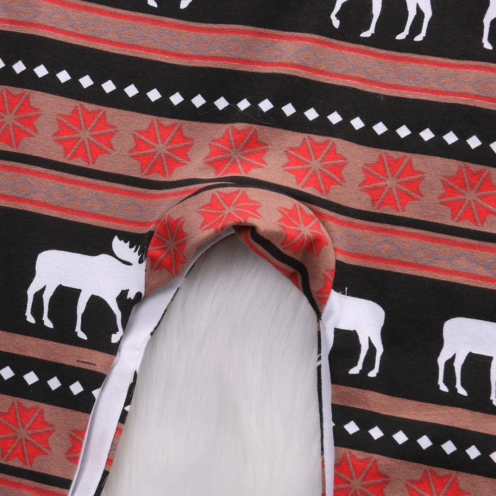 6f5c019d4 Ins Factory Comfortable Christmas Baby Pajamas Reindeer Organic ...