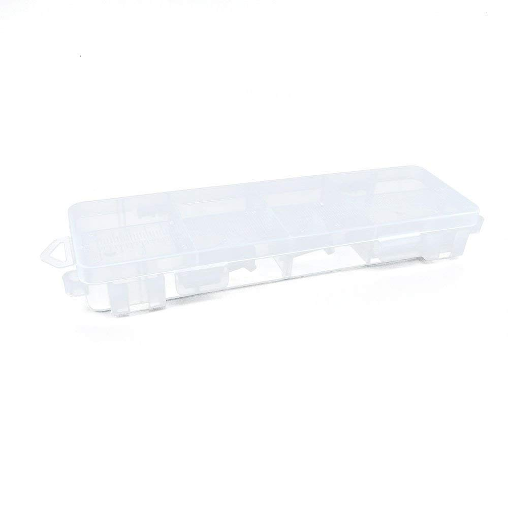 10 PCS Clear Beads Tackle Box Arts Crafts Tackle Storage Plastic Boxes Organizers Containers Case XX041