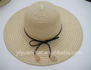 8d55016d4b6 2018 Wholesale Hot Sale Floppy Paper Straw Sun Hats Graceful Ladies Hats