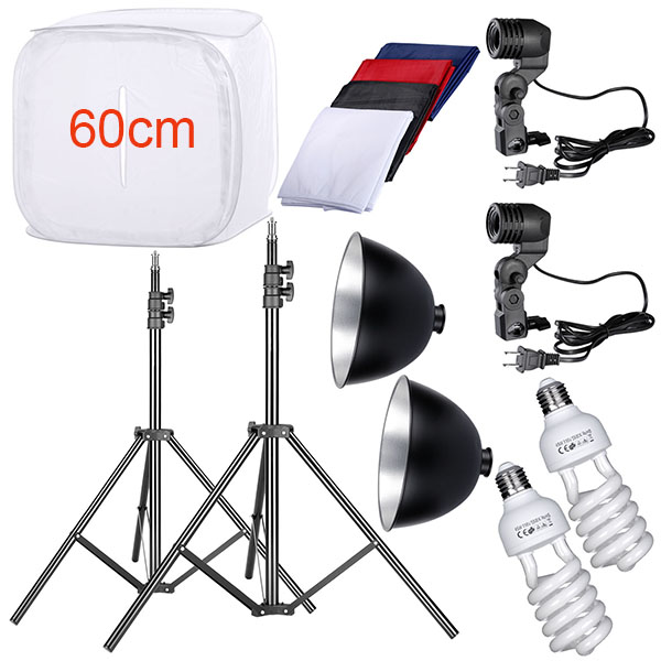 60cm Photo Studio Soft Box Tent Light Cube for Photography