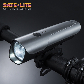 2018 Sate-lite Bicycle headlight with CE /FCC approved USB rechargeable bike light led bicycle light LF-07