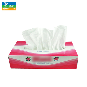 Custom printed ultra soft box facial tissue