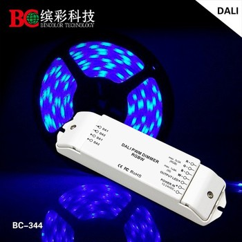 Bc-344 4096 Levels 4ch Led Rgbw Light Dali Dimming Driver With 3 ...