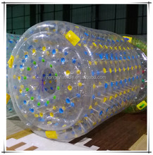 Exclusive and funny water roller ball, hot water hair roller, inflatable water rolling ball