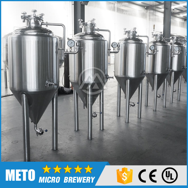 Complete beer brewing systems , 100l micro beer brewing equipment home brewing machinery