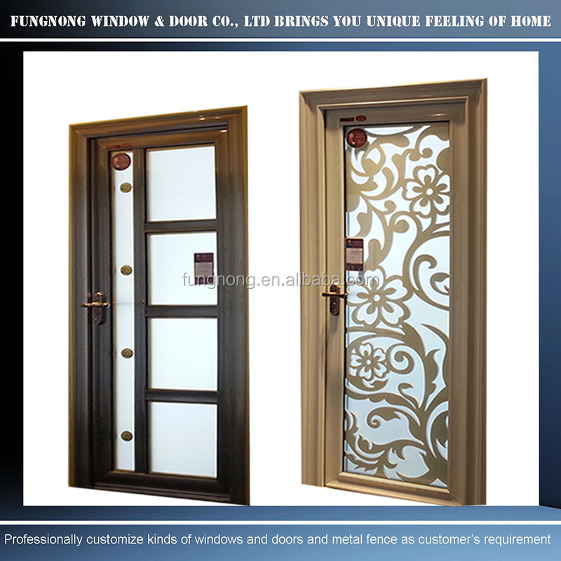 Fungnong Windows Doors Co Ltd Professionally Draw Door Design For Glass Kitchen Door