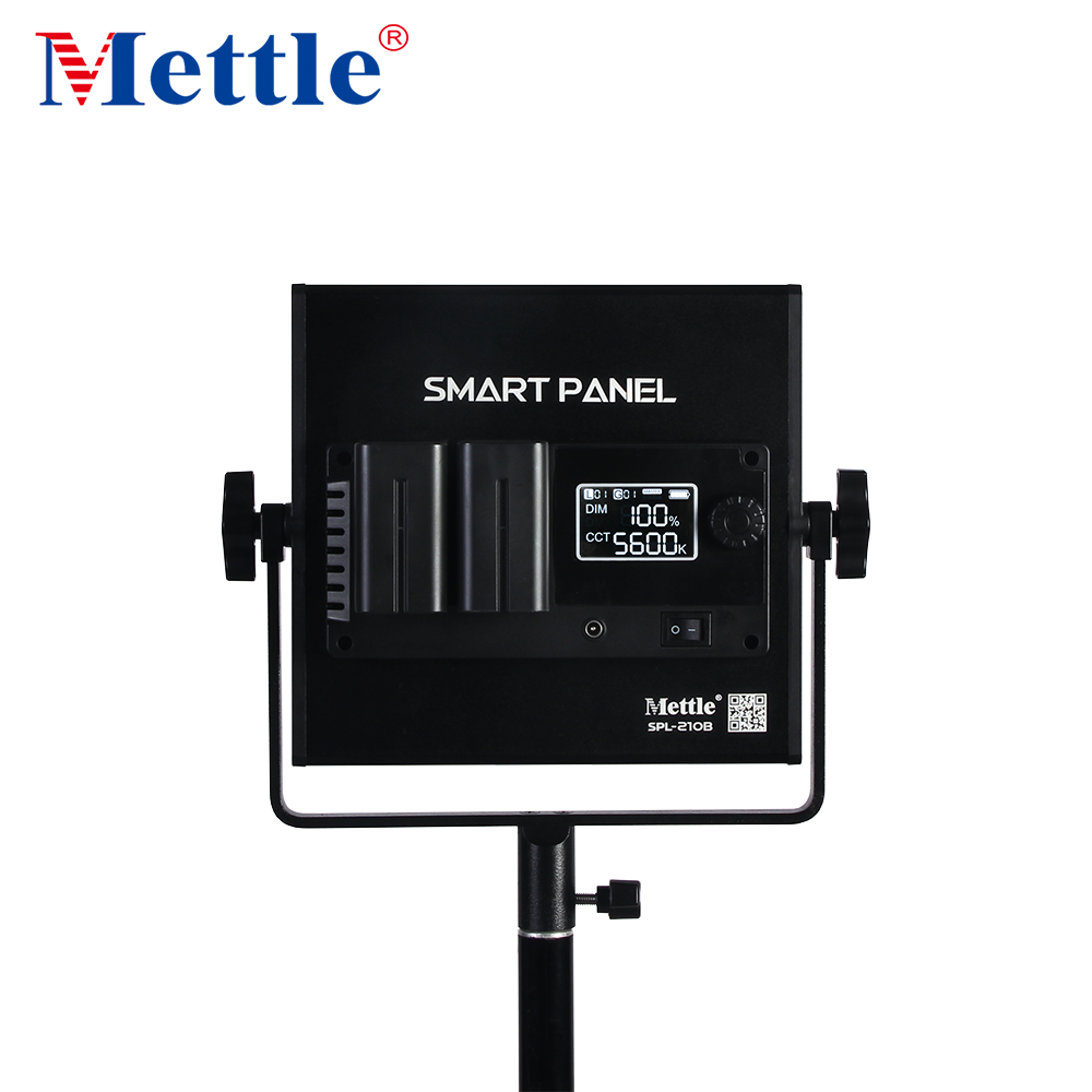 Mettle SPL Series Smart Panel  Dual Color RGB Wireless App Control Photographic Lighting  LED Video Light