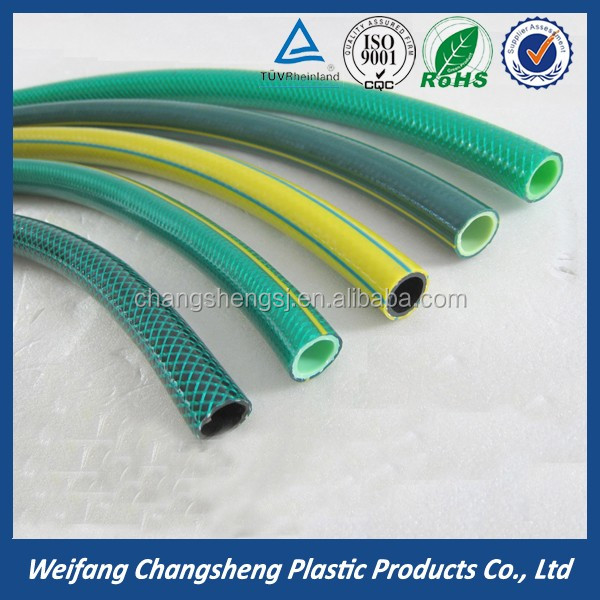 raw material pvc garden water hose with rohs heavy duty garden hose with low price