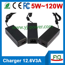 12v li ion battery charger 12.6v 3a 4a 5a 1a 2a for li ion battery pack