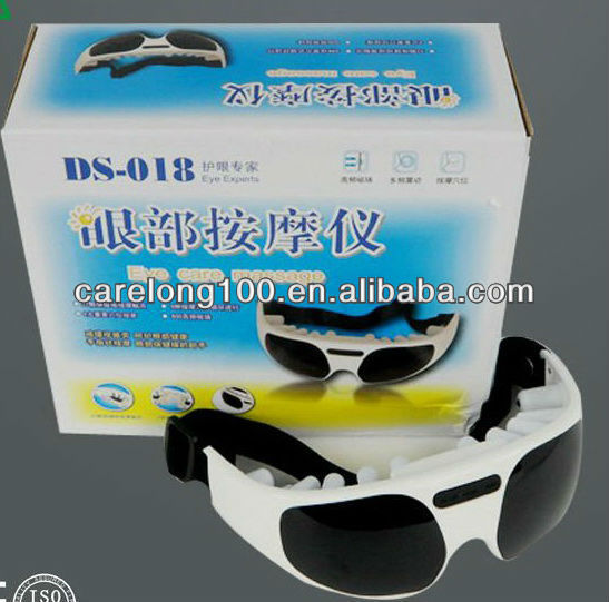2013 popular vibrating sunglasses eye massager/ magnetic eye care massaer/ anti-winkle eye massager